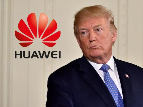 Trump UK Huawei 5G