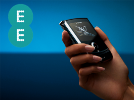 Motorola Razr to launch exclusively with EE in the UK