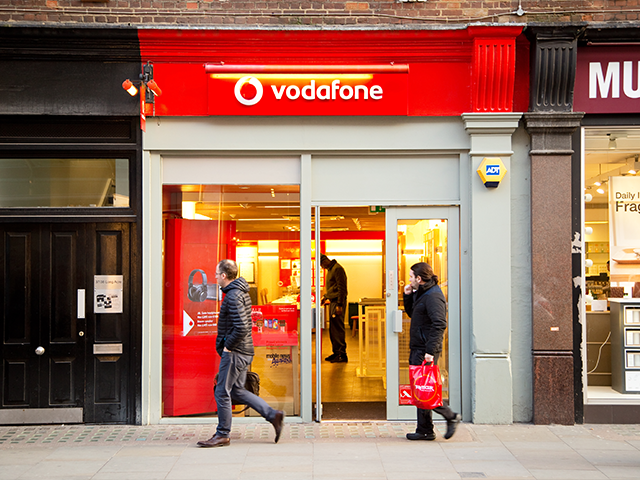 Vodafone glitch leaves some customers with bills in the thousands