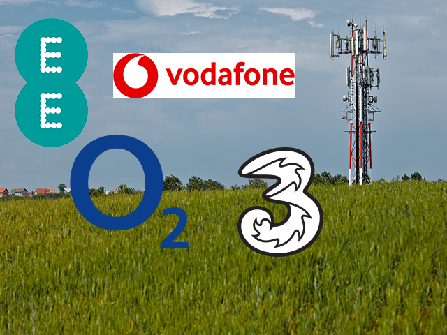 UK's mobile networks working together to tackle mobile 'not spots'