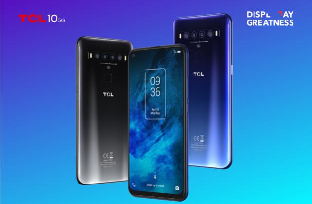 New TCL 10 Series 5G phone will cost just £399/$490